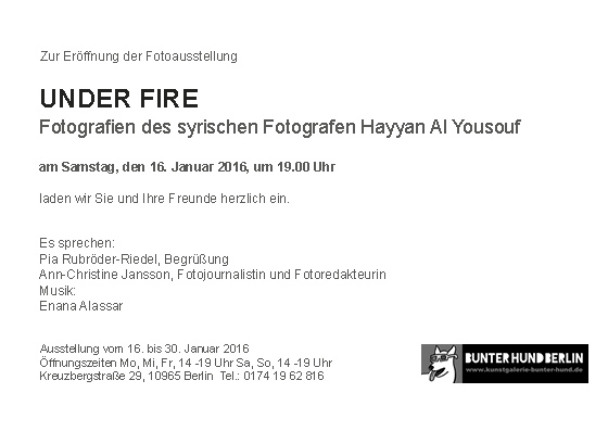Einladung.Text UNDER FIRE HAYYAN AL YOUSOUF WEB S2 srgb